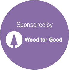 Sponsored by Wood for Good